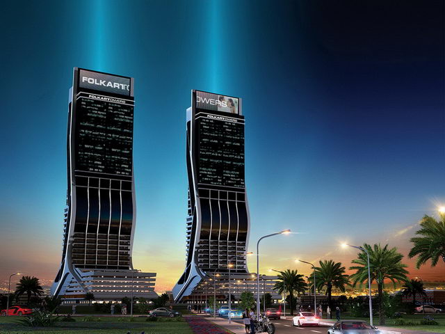 небоскребы Folkart Towers