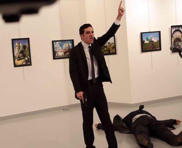 убийство посла в турции андрей карлов Мевлют Мерт Алтынташ