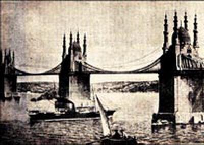 История босфорских мостов