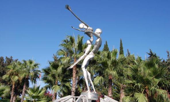 Скульптура «Дождь любви»