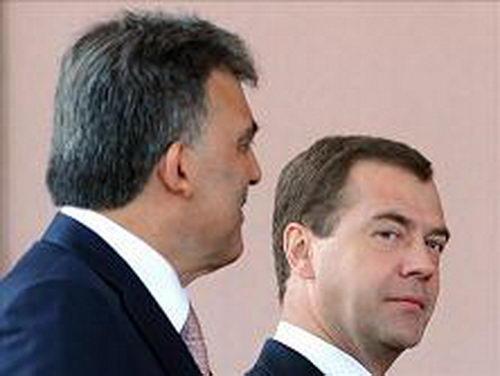Дмитрий Медведев и Абдуллах Гюль