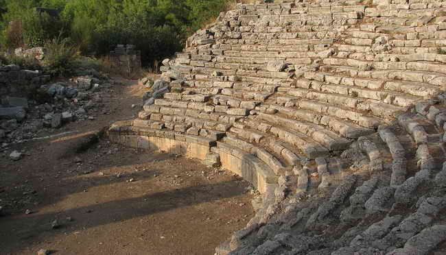 Турция древний Фазелис Кемер