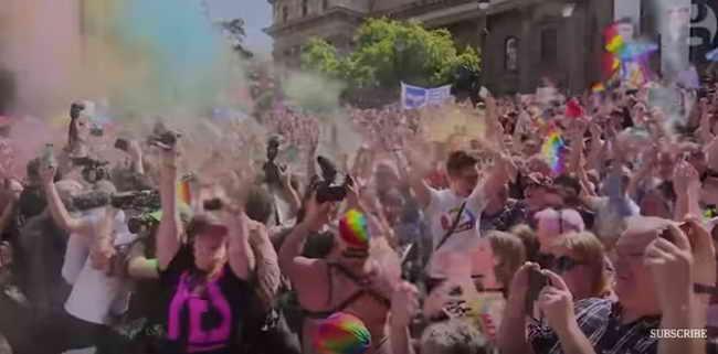 Австралия Опрос по однополым бракам