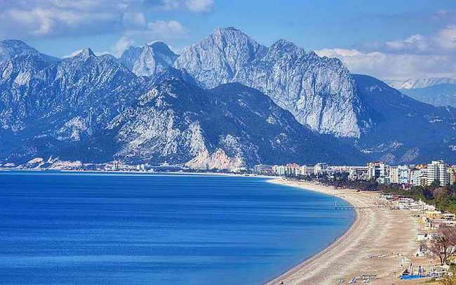 Турция. Пляжи Антальи