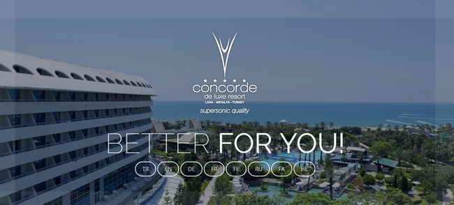 Отель Concorde De luxe Resort 5* (Анталия)
