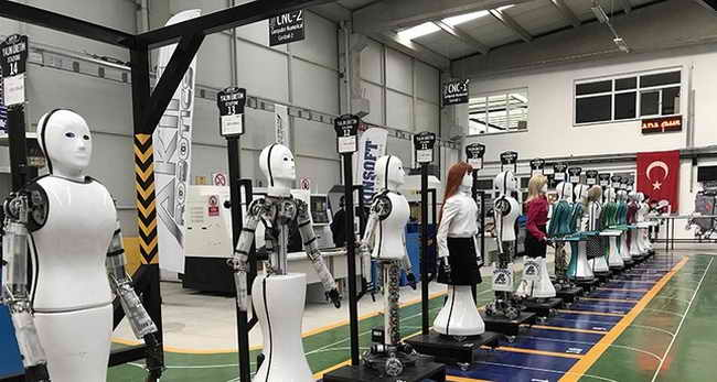 Первый завод в Турции по робототехнике