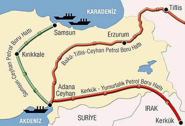 Нефтепровод Киркук - Джейхан