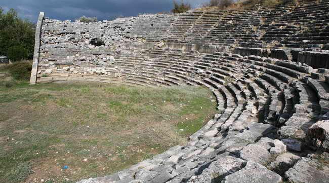 Турция. Античный город Летоон