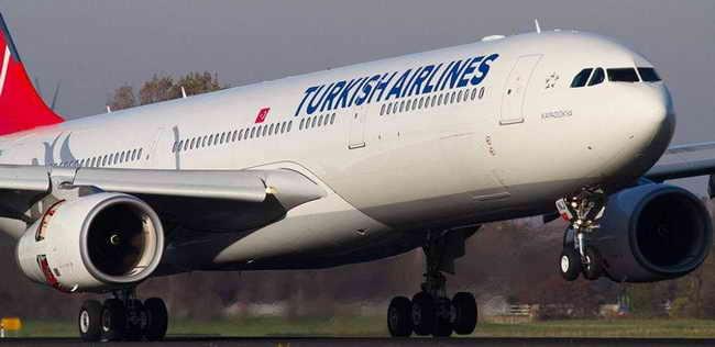 Турция. Авиакомпания Turkish Airlines. Самолет